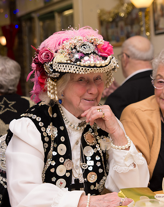 photoblog image The Pearly Queen of Bermondsey