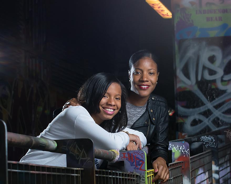 photoblog image Mummy and daughter